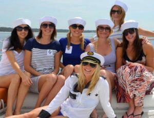Girls on Bachelorette Charter in Charleston, SC